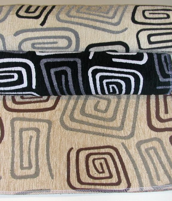 RETRO zsenília bútorszövet