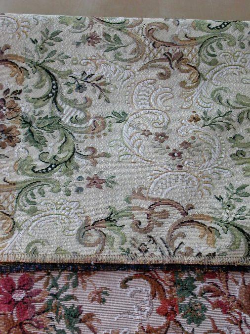 PRÁGA 31–001. gobelin szövésű klasszikus bútorszövet
