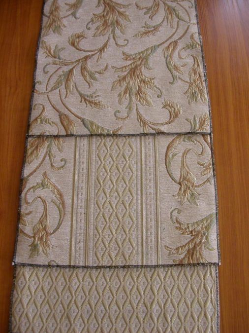 Belga Zsenília klasszikus bútorszövet, drapp
