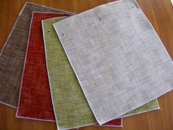 KLUB zsenília egyszínű bútorszövet