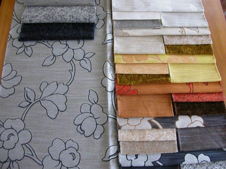 ALIAS/LATINI virág mintás, csíkos és egyszínű szövött bútorszövet