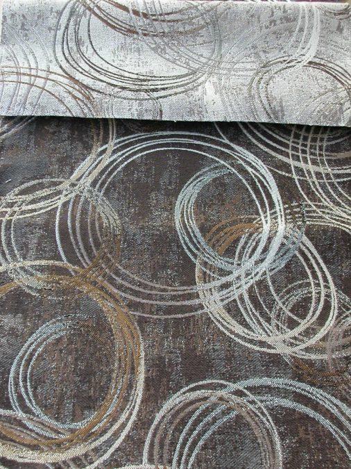 ARLO modern kör mintás bútorszövet