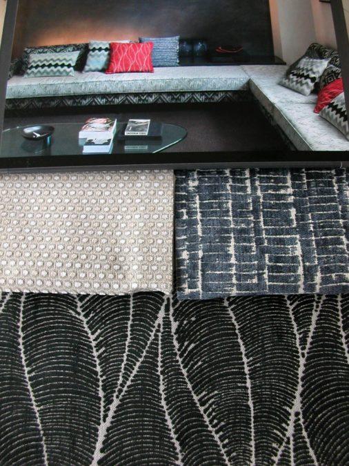 ACAPULCO modern mintás bútorszövet kollekció