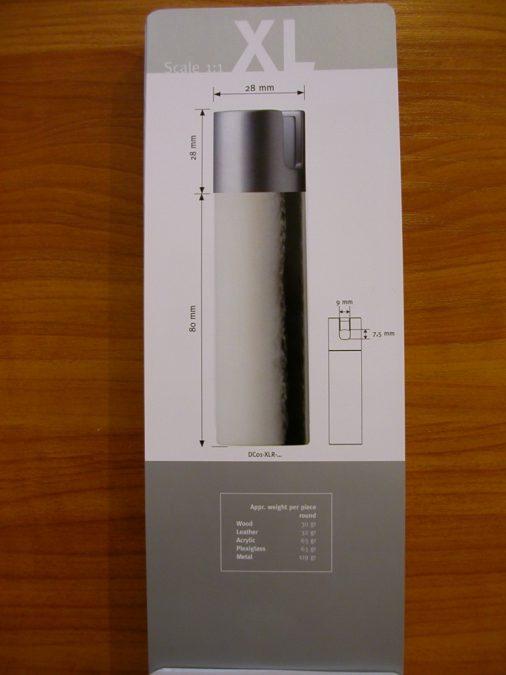 XL-méretű design súly