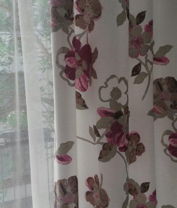 eloisa 015 virág mintás sötétítő
