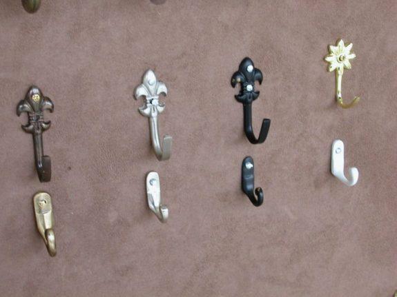 LILIOM, VIRÁG és MINI fém függöny elkötő kampók