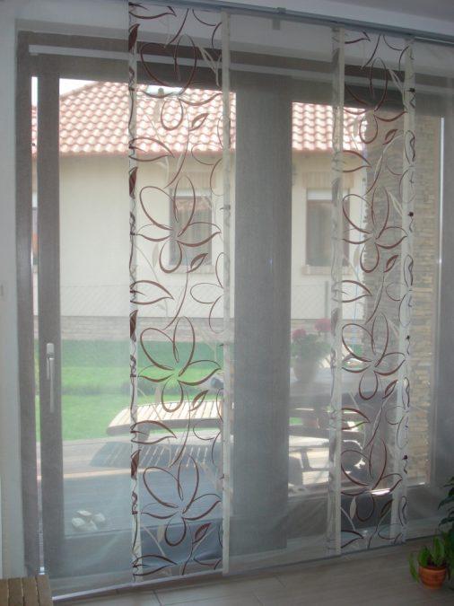 3-pályás, 5-panelos lapfüggöny sín, matt króm színben
