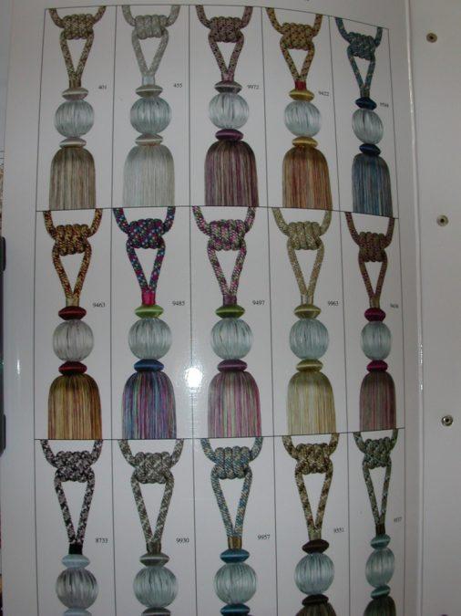 5160–10. Exkluzív függöny elkötők