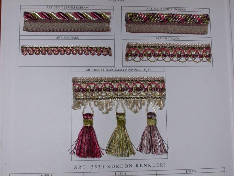 Exkluzív Zsinórok, Bortnik, Bojtos bortnik