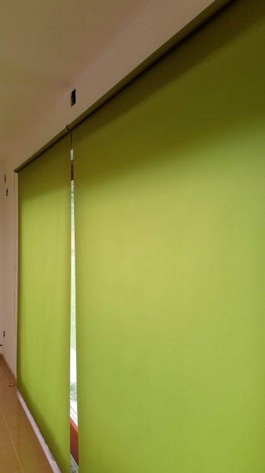 berlin 6430 lime dupla roletta króm konzollal