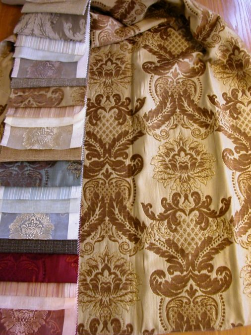 AMASRA klasszikus barokk mintás sötétítő függöny