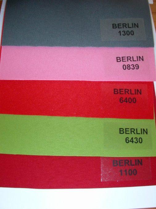BERLIN Szalagfüggöny textil
