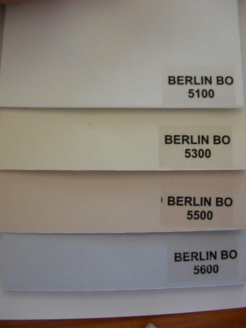 BERLIN BO fényzáró szalagfüggöny textil