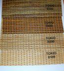 TOKIO bambusz hatású szalagfüggöny textil