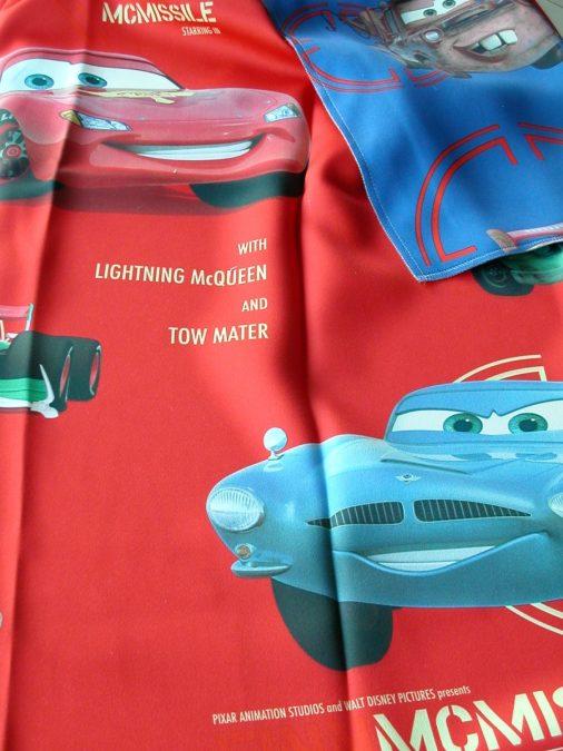 20041. CARS Black out gyerek mintás függöny