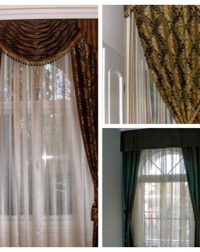 Klasszikus függönyök