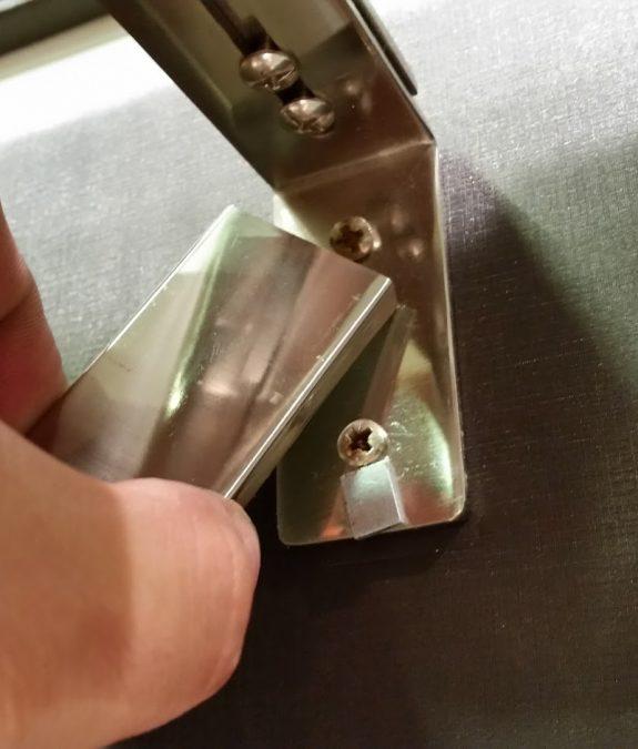 Quadro karnis mágneses fedél