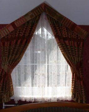 Tetőtéri fényáteresztő függöny