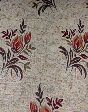SF 27-T virág mintás zsenília bútorszövet