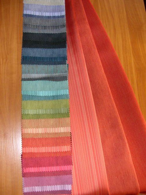 40255-40257 egyszínű szövött DIM OUT függöny